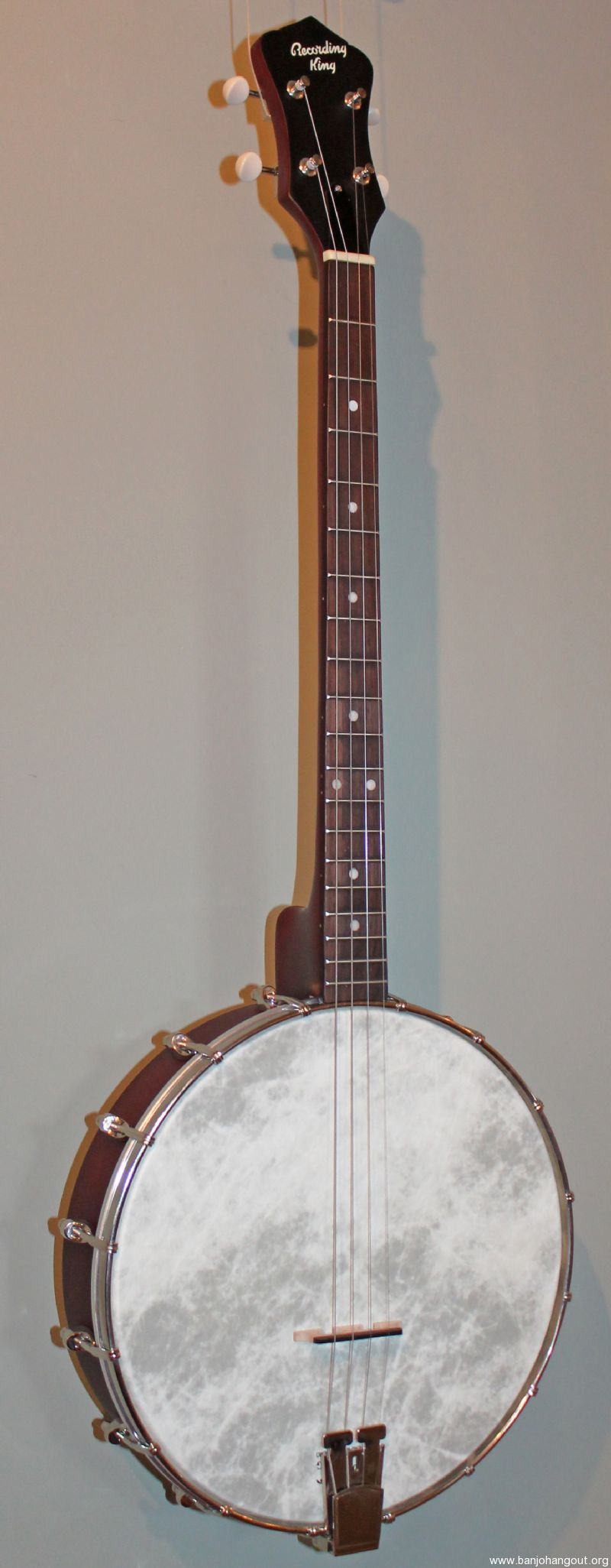 recording king dirty thirties tenor banjo new used banjo for sale at. Black Bedroom Furniture Sets. Home Design Ideas