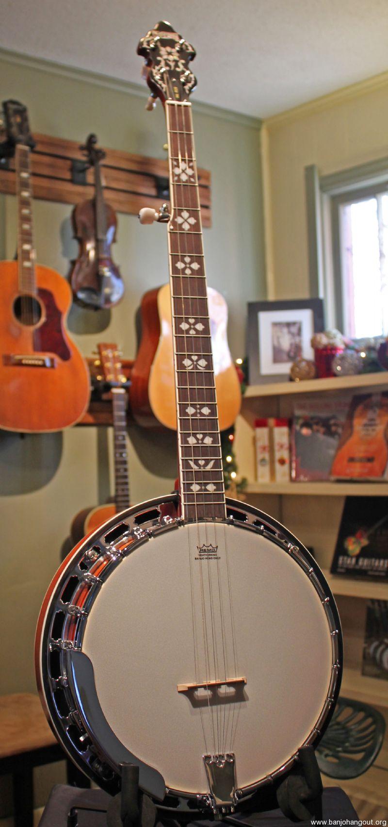 recording king rk r20 banjo holiday bundle case picks capo tuner strap used banjo for sale. Black Bedroom Furniture Sets. Home Design Ideas