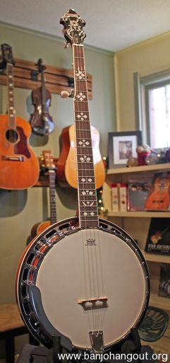 recording king rk 20 banjo new w case used banjo for sale at. Black Bedroom Furniture Sets. Home Design Ideas