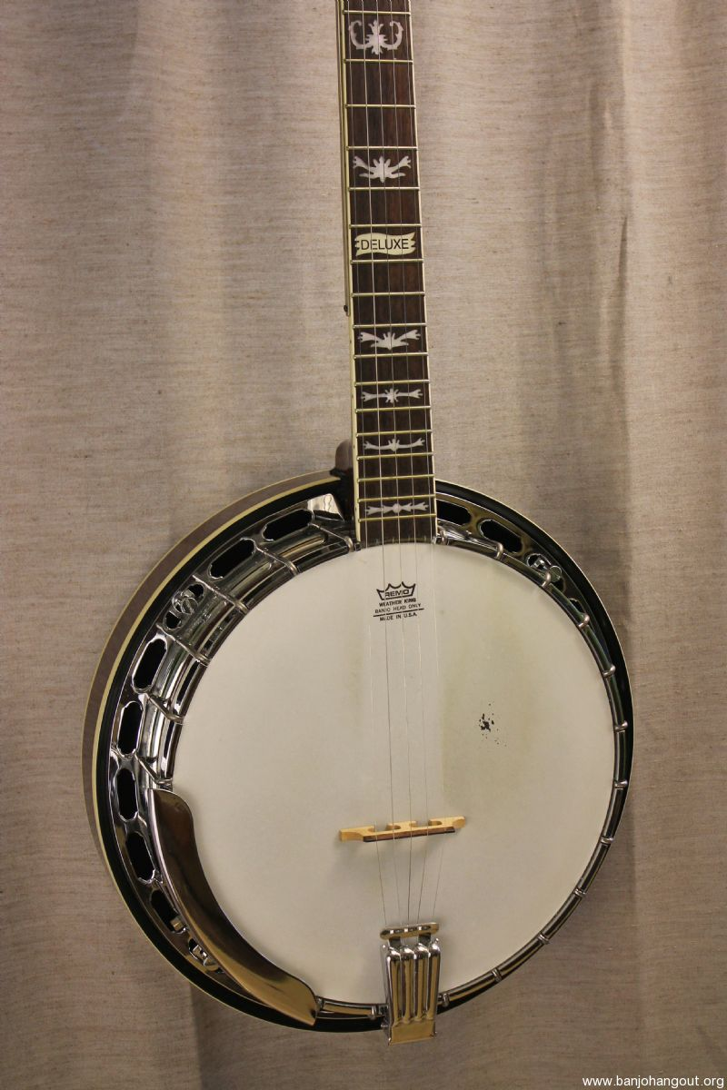 for sale fender fb 58 resonator banjo used. Black Bedroom Furniture Sets. Home Design Ideas