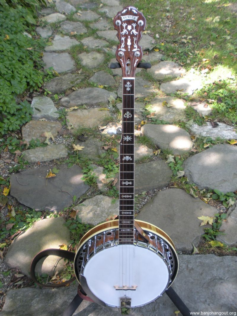 rare fender artist 5 string w concert tone inlay used banjo for sale at. Black Bedroom Furniture Sets. Home Design Ideas