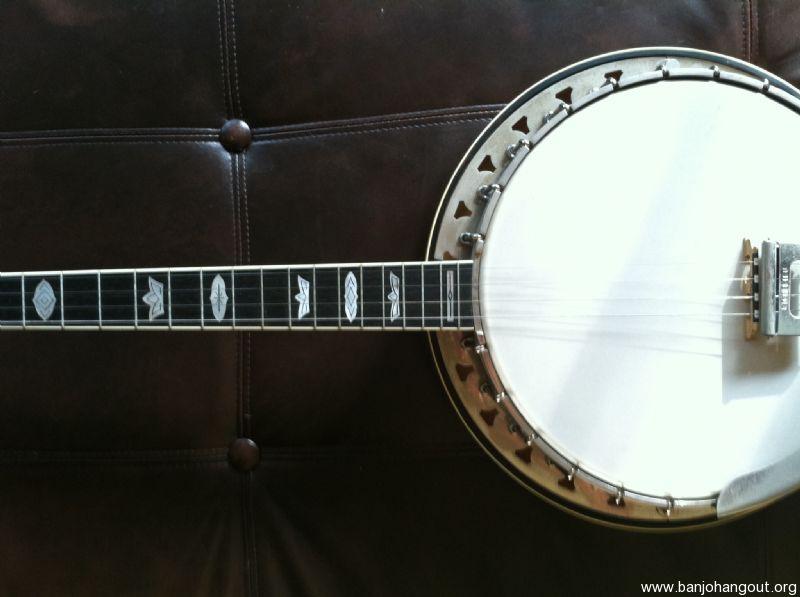 SOLD: New Price! 1976 Martin Vega Plectrum Banjo - Banjo Hangout