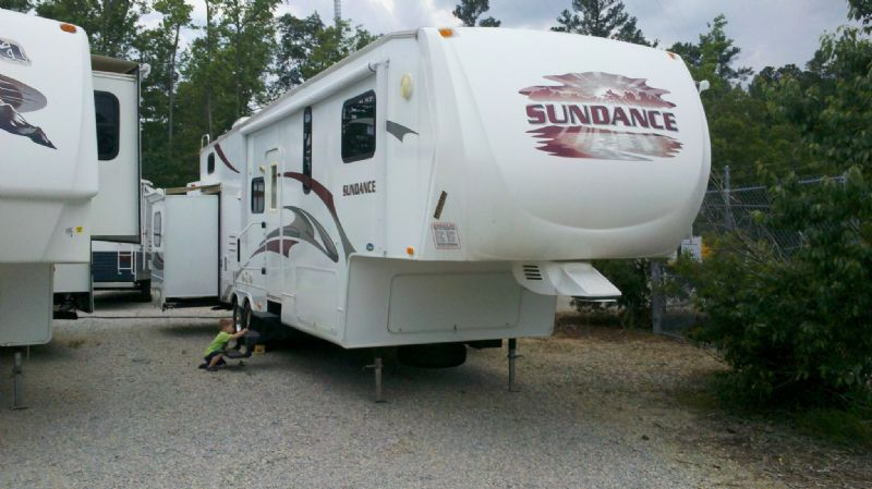 A shot of our RV