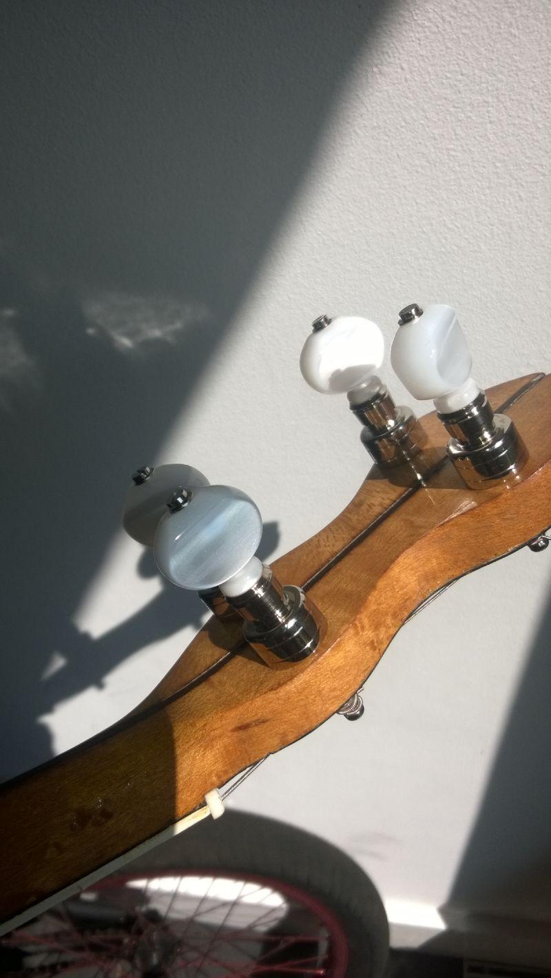 geared ABM banjo tuners