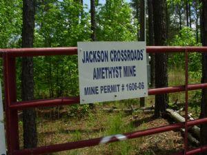 Jackson Crossroads Amethyst Mine