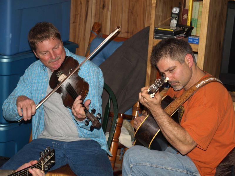 Carl Hopkins & Anthony Mature - Gayle Hopson's Photos - Fiddle Hangout