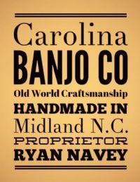 View Carolina Banjo Company's Homepage