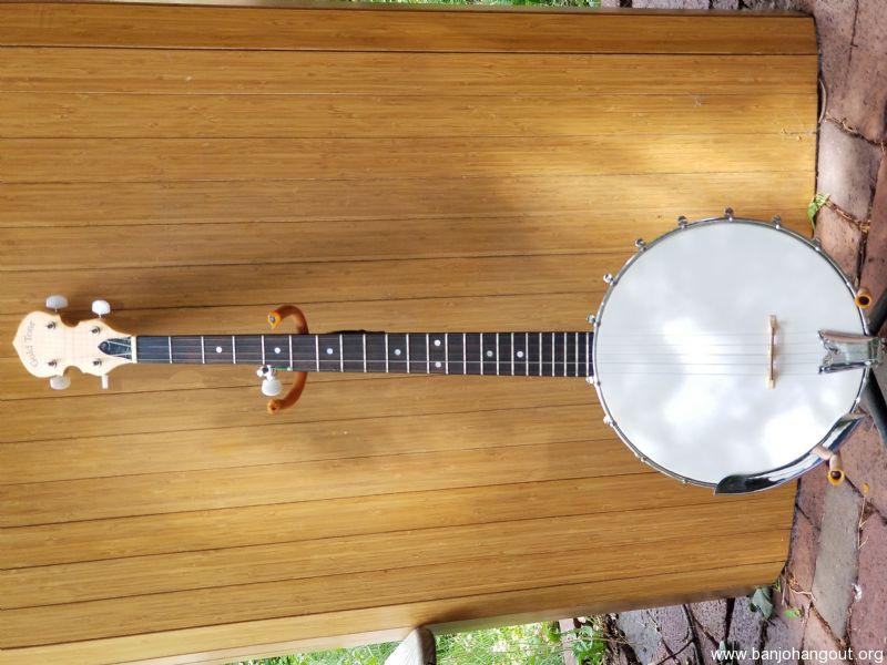 Gold tone cripple creed 100 open back 5 string banjo