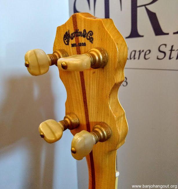 Martin Vega Vox IV Deluxe Plectrum Banjo 1970's - Used Banjo