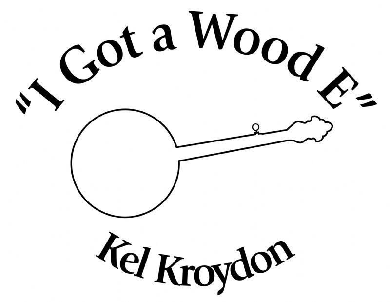 kel kroydon wood e banjo used banjo for sale from banjo vault Banjo Neck Drawing kel kroydon wood e tee shirt logo