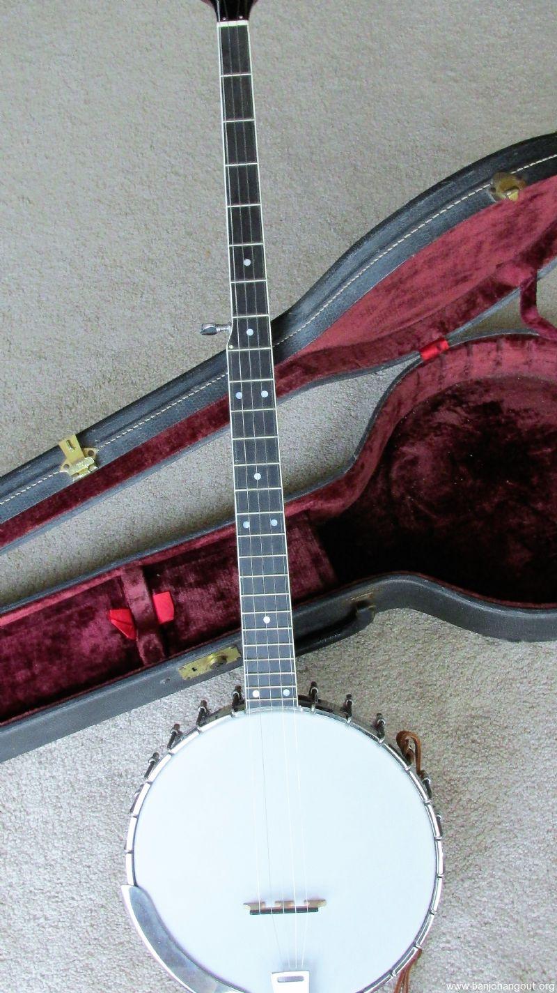 vintage vega 5 string long neck banjo pete seeger model serial a 128665 used banjo for. Black Bedroom Furniture Sets. Home Design Ideas