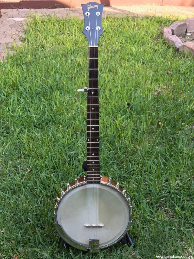 vintage gibson rb 170 banjo used banjo for sale at. Black Bedroom Furniture Sets. Home Design Ideas