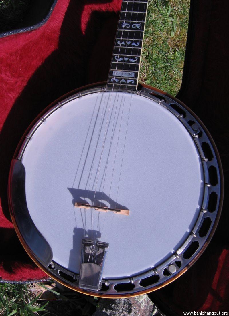 chris warner custom banjo vintage gibson reproduction used banjo for sale from banjo vault. Black Bedroom Furniture Sets. Home Design Ideas