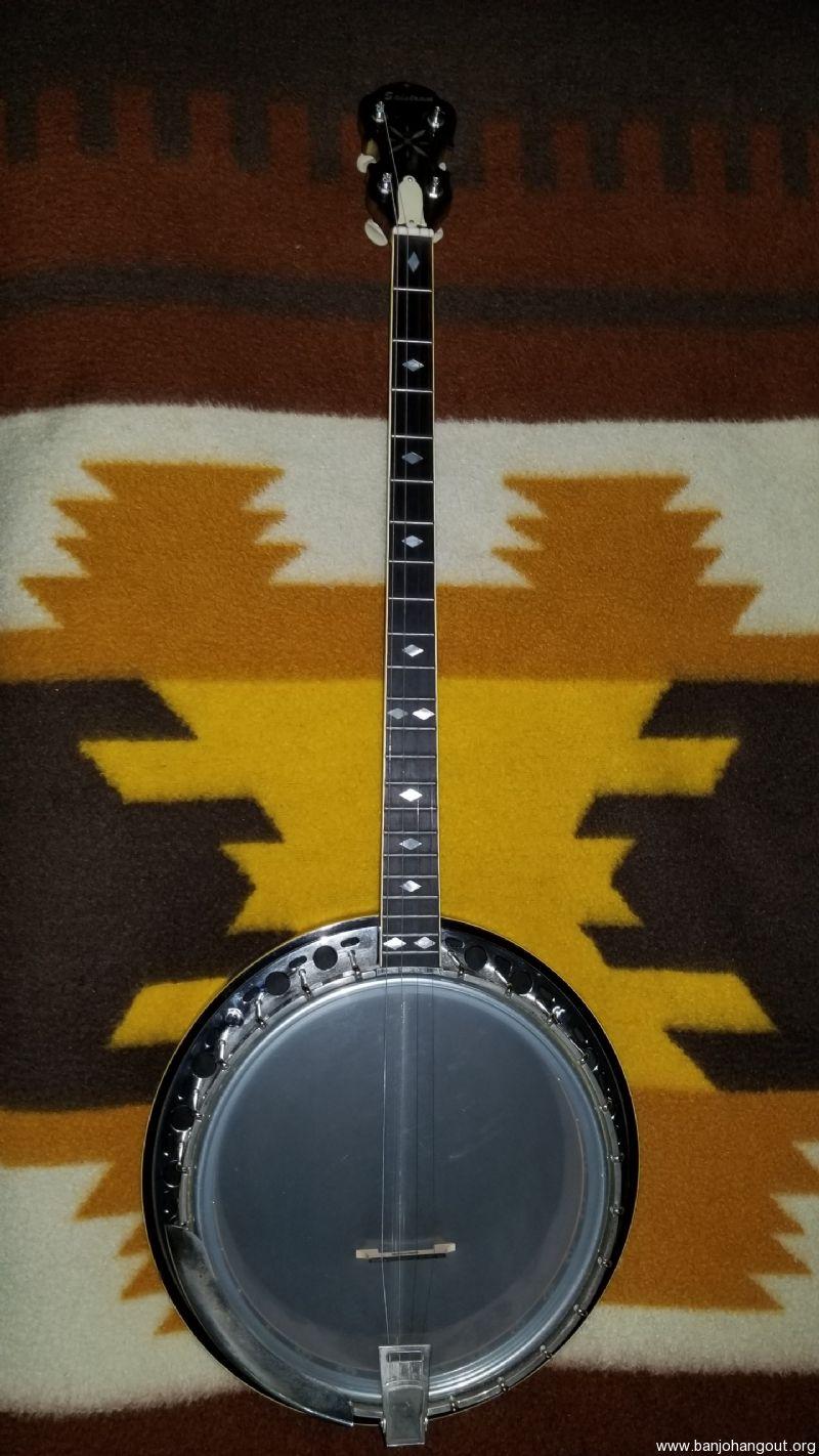 salstrom artist plectrum banjo 4 string vintage 1960s exc cond used banjo for sale from. Black Bedroom Furniture Sets. Home Design Ideas