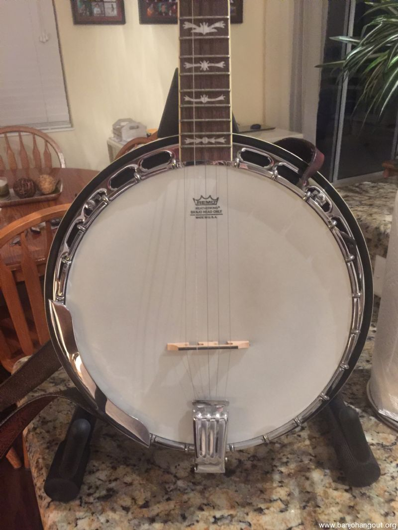 fender fb 58 deluxe used banjo for sale at. Black Bedroom Furniture Sets. Home Design Ideas