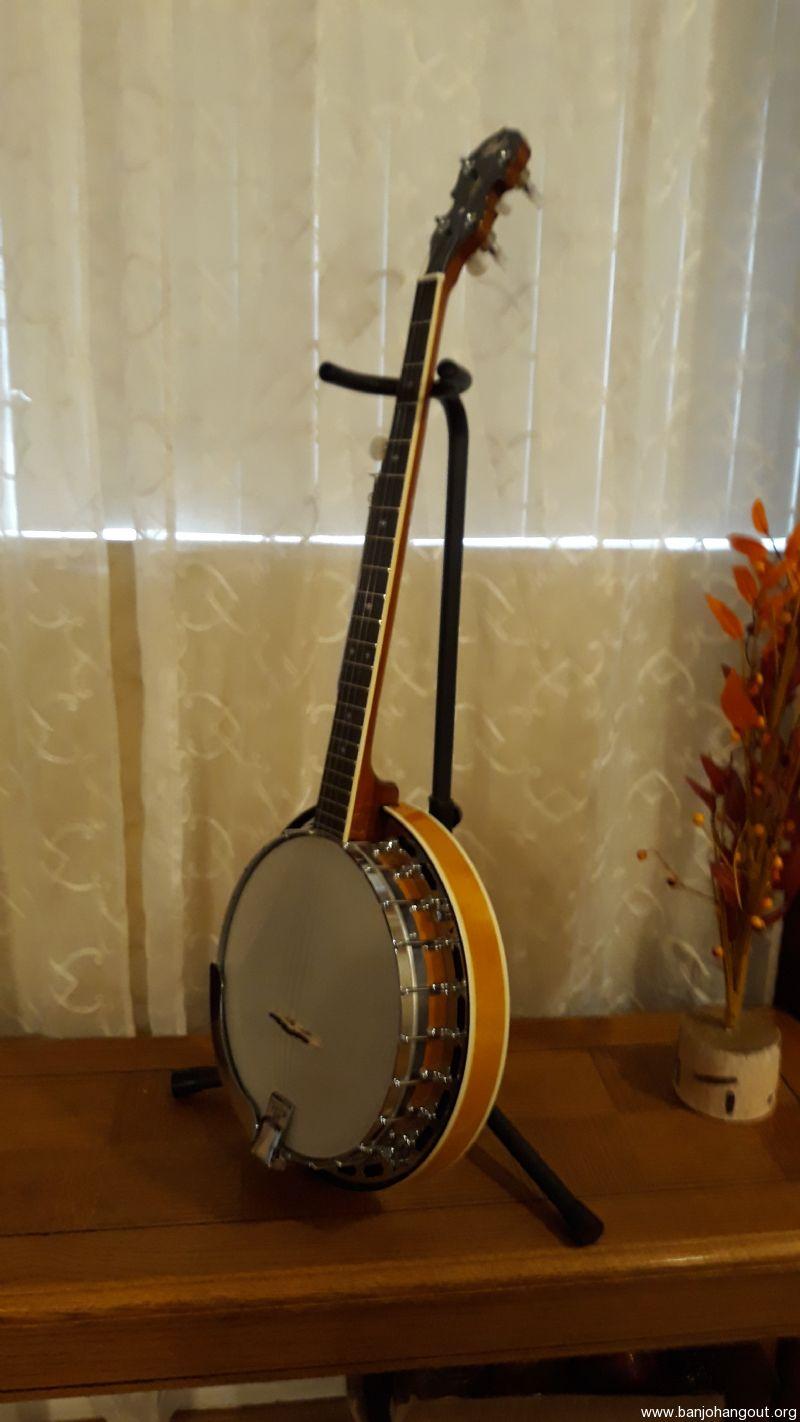 iida 1970s japanese banjo vintage used banjo for sale at. Black Bedroom Furniture Sets. Home Design Ideas
