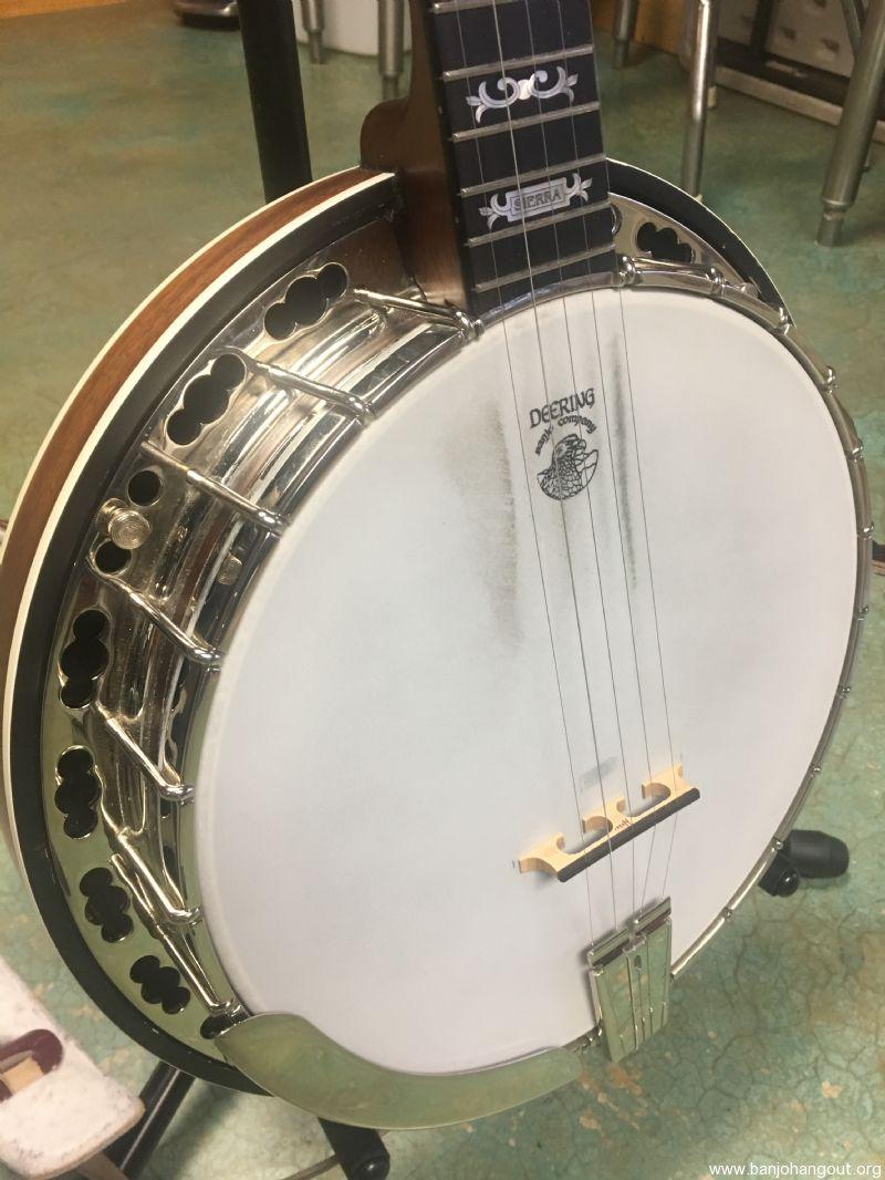 SOLD: Deering Sierra Banjo - Banjo Hangout