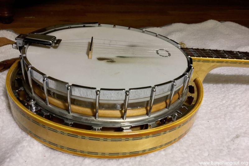 For Sale - Ibanez Artist Series 5-string banjo (vintage mid