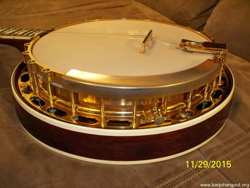 SOLD! Price Reduced Again! Heartland Banjos Style 18 Top