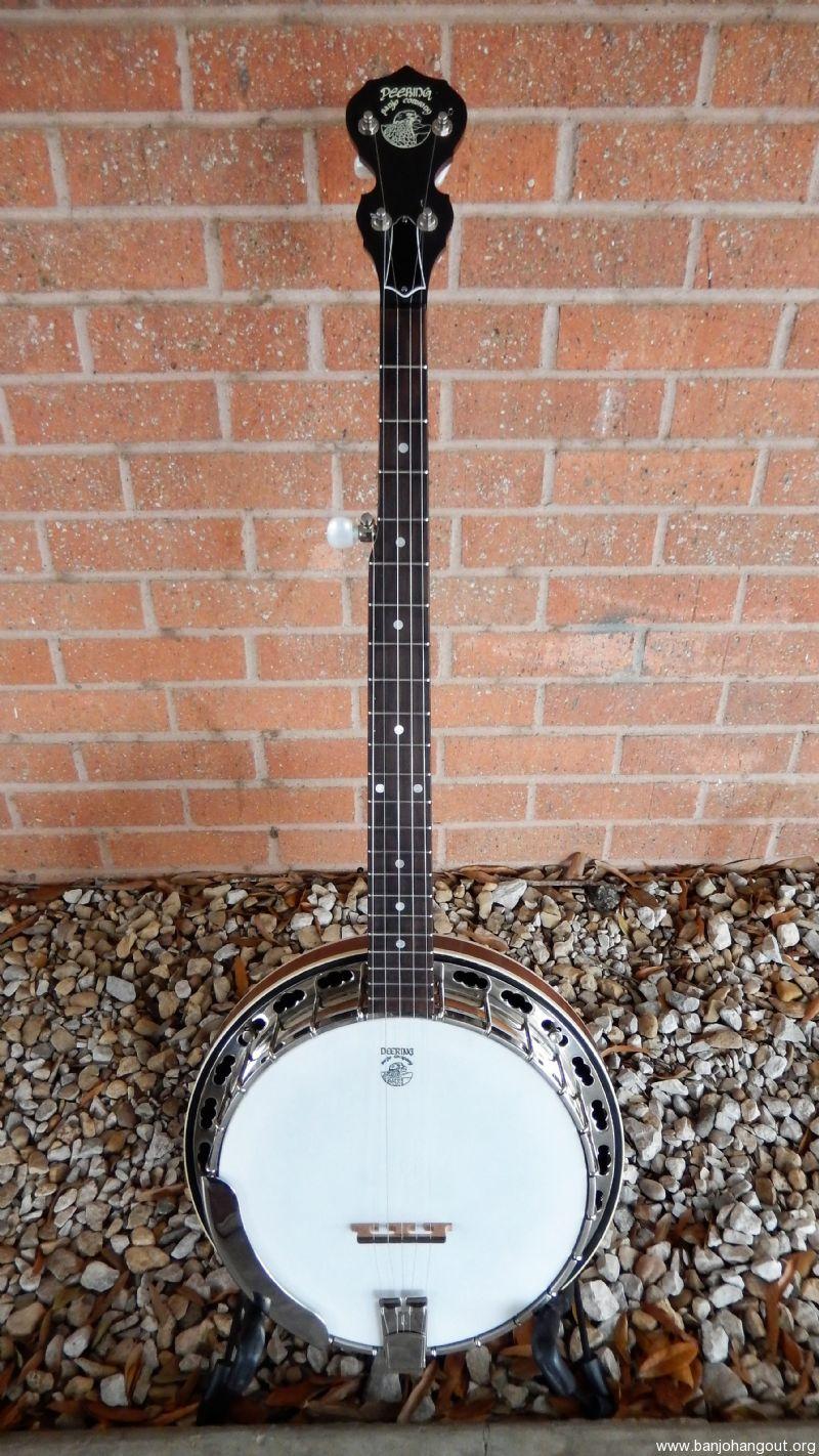 deering standard sierra used banjo for sale at. Black Bedroom Furniture Sets. Home Design Ideas