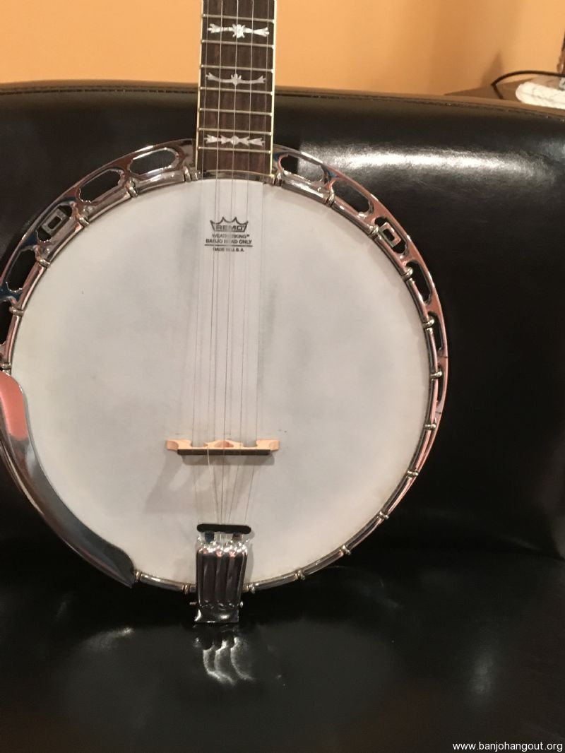 fender deluxe banjo price reduced used banjo for sale at. Black Bedroom Furniture Sets. Home Design Ideas