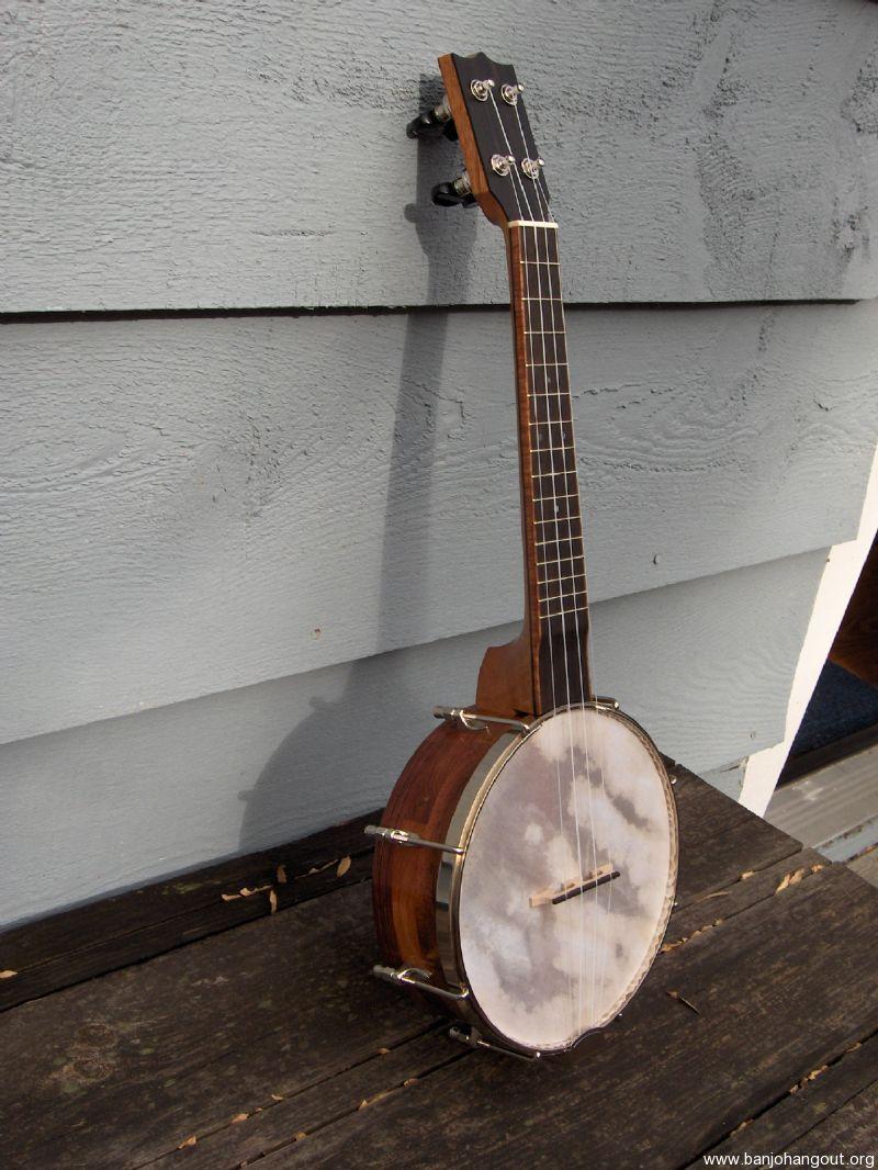 noel booth deluxe banjo ukulele used banjo for sale at. Black Bedroom Furniture Sets. Home Design Ideas