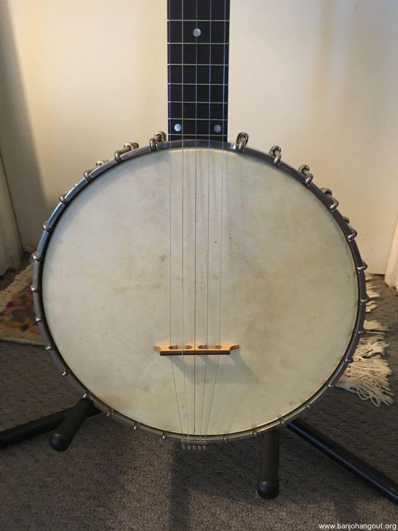 For Sale - 1920 Vega/Fairbanks Electric 5-String Banjo
