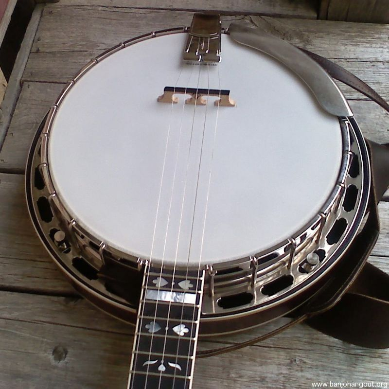 1981 Gold Star Parts Banjo Whole Or Part Out Used Banjo