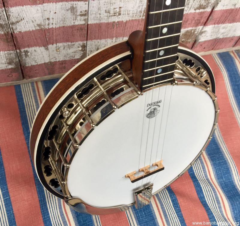 For Sale - Deering Sierra (Five string Flathead)SOLD