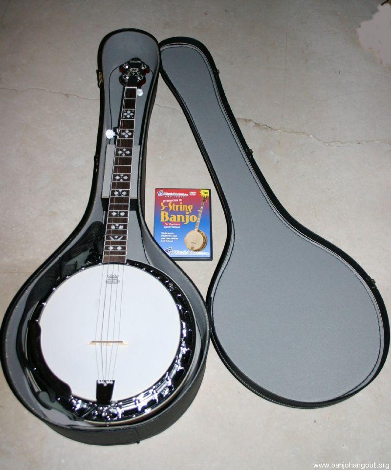 recording king rk r20 sold pending funds used banjo for sale at. Black Bedroom Furniture Sets. Home Design Ideas