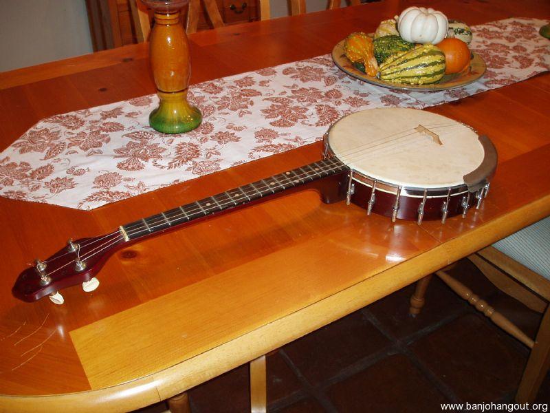 Vintage Gibson tenor banjo - Used Banjo For Sale at BanjoBuyer com