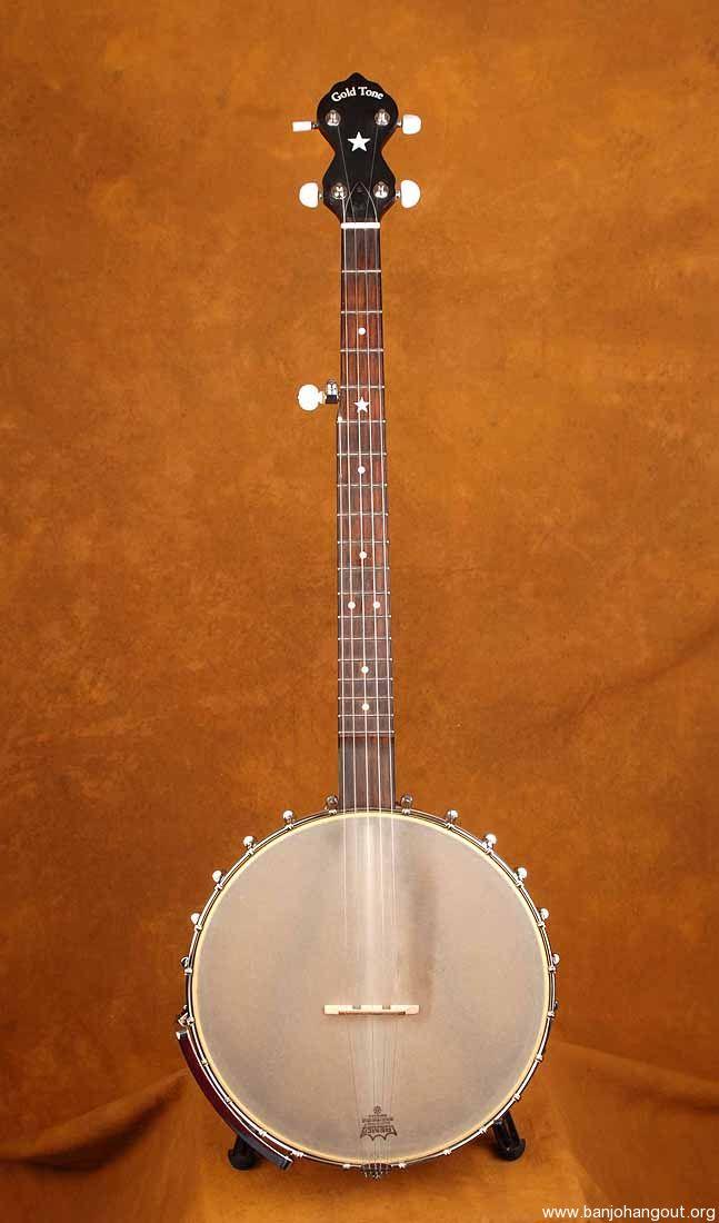 BC120 Gold Tone Open Back Banjo - Used Banjo For Sale at