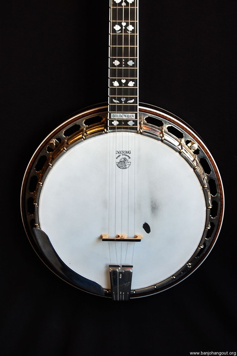used deering golden era used banjo for sale at. Black Bedroom Furniture Sets. Home Design Ideas