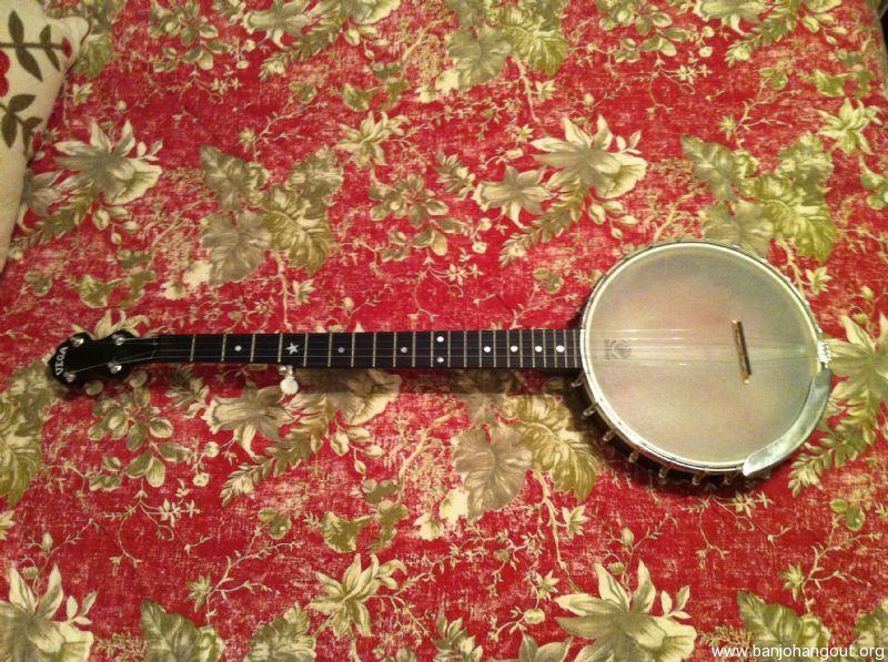 Deering Vega Senator Openback - Used Banjo For Sale at BanjoBuyer com