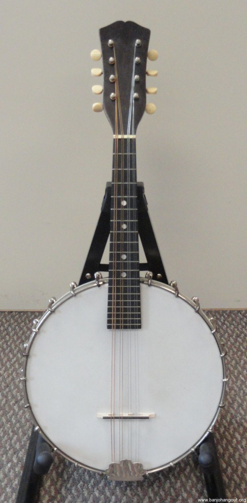 1922 Vega Banjo Mandolin - Used Banjo For Sale at BanjoBuyer com
