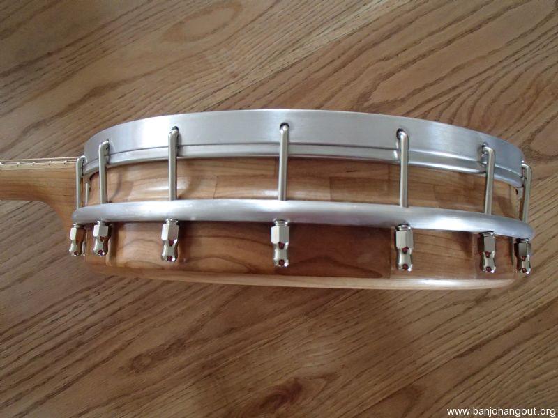 convertible 5 1 or 6 string banjo zachary hoyt 46 used banjo for sale at. Black Bedroom Furniture Sets. Home Design Ideas