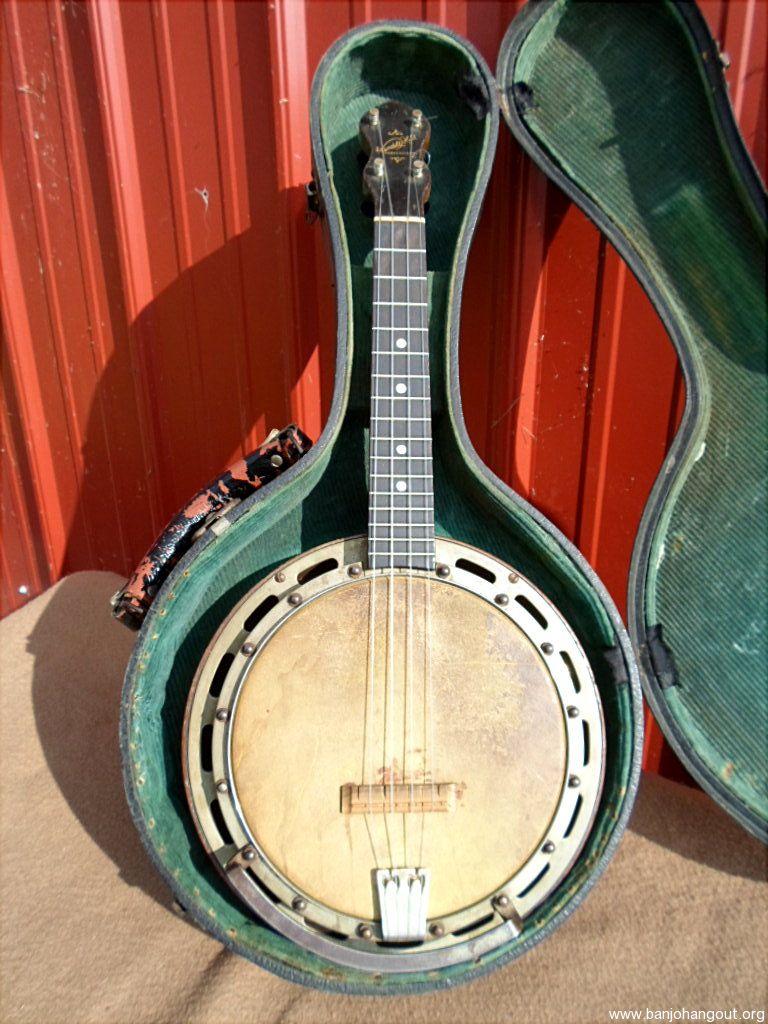 sold ludwig wendell hall banjo uke ukulele used banjo for sale at. Black Bedroom Furniture Sets. Home Design Ideas