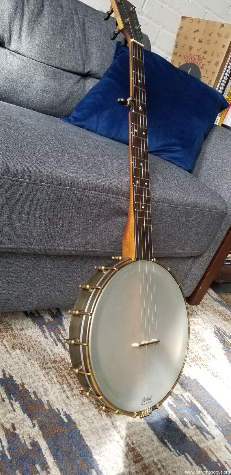 SOLD: Rickard 12 dobson Spunover Brass Rim - Banjo Hangout