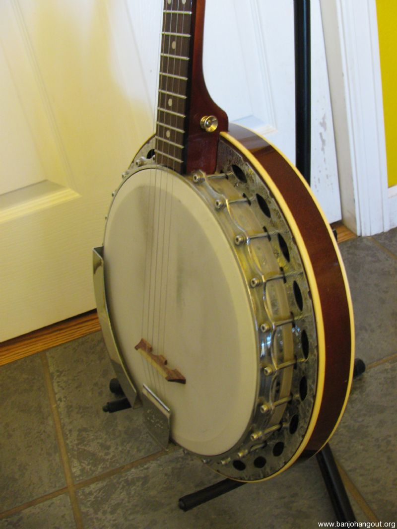 nice 60s 70s vintage hofner banjo used banjo for sale at. Black Bedroom Furniture Sets. Home Design Ideas
