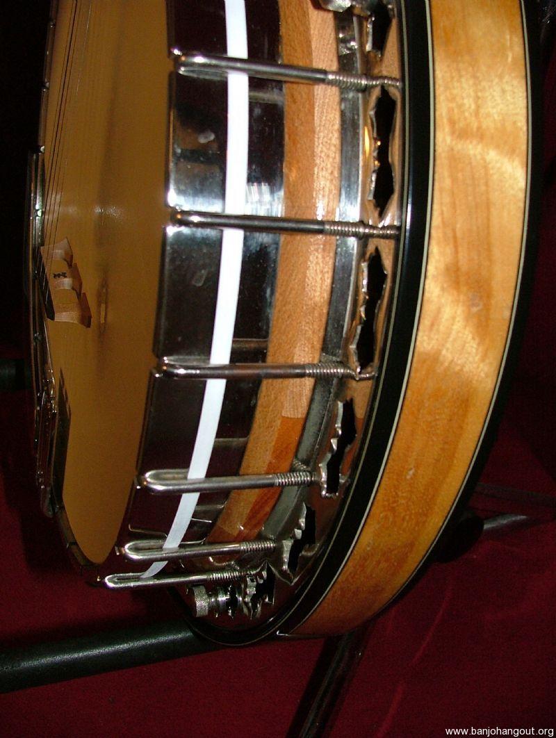 custom vintage 1977 stelling 5 string banjo bellflower used banjo for sale at. Black Bedroom Furniture Sets. Home Design Ideas