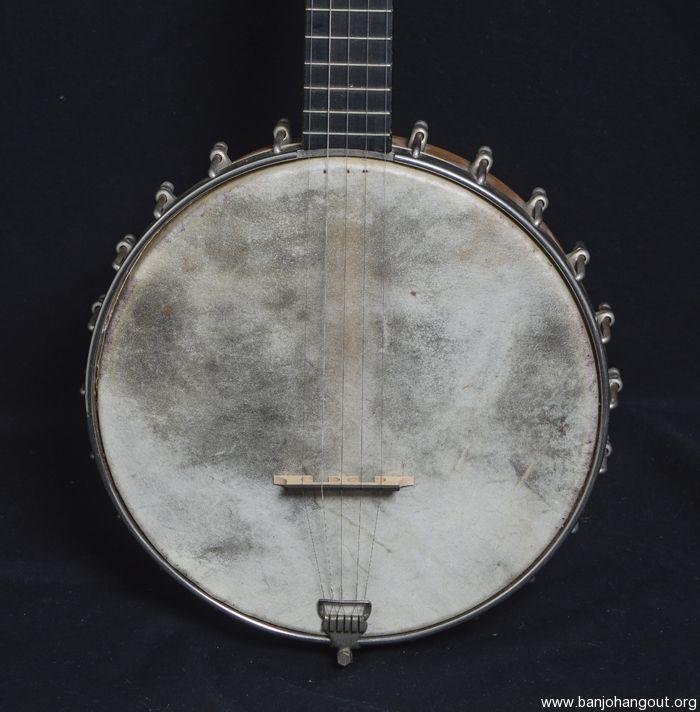 """For Sale - 1920 Lyon & Healy """"Own Make"""" 5 String Banjo"""