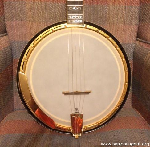 vintage iida model 240 archtop banjo used banjo for sale at. Black Bedroom Furniture Sets. Home Design Ideas