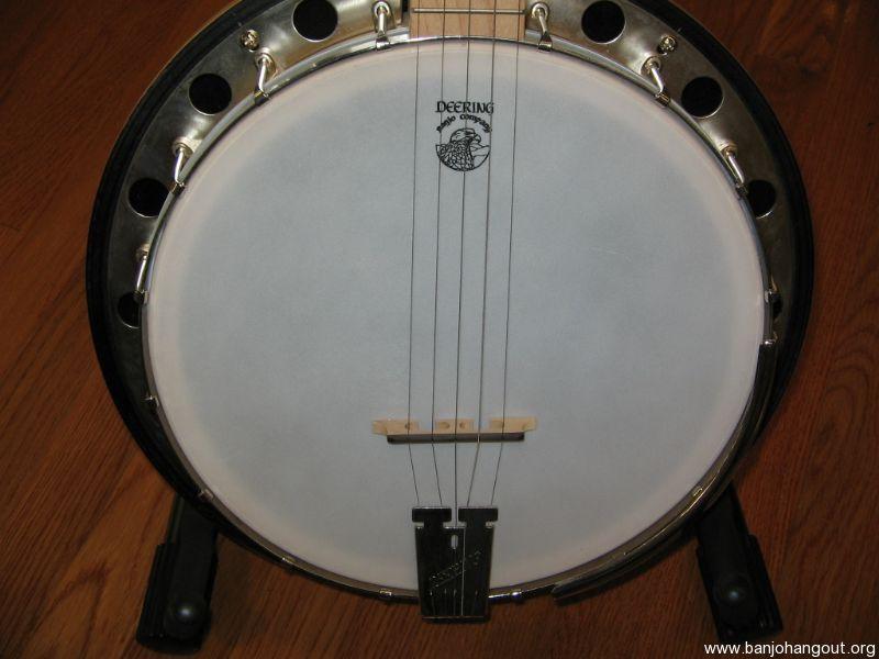 used deering goodtime 2 left handed used banjo for sale at. Black Bedroom Furniture Sets. Home Design Ideas