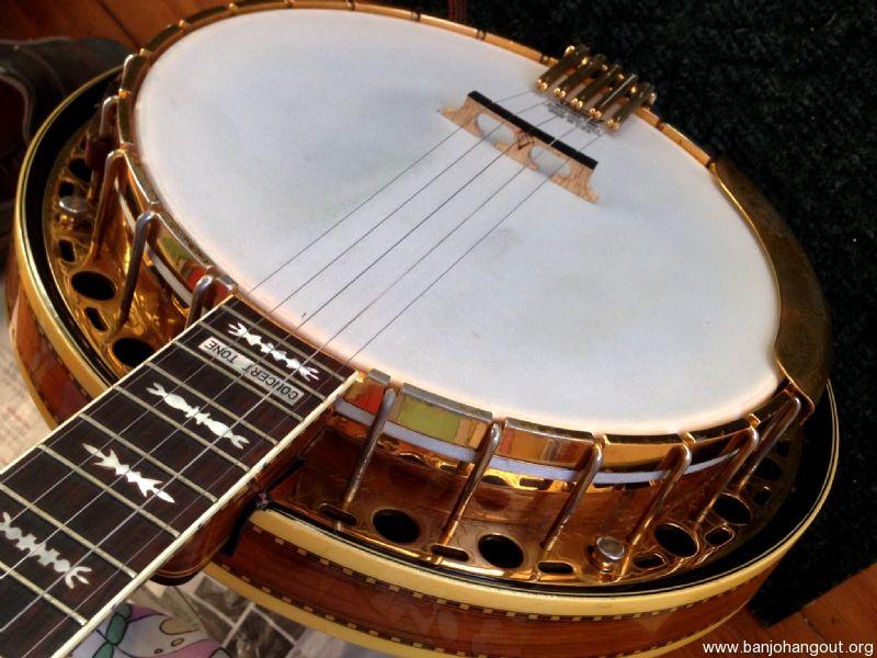 Vintage Fender Concert Tone banjo - Used Banjo For Sale at