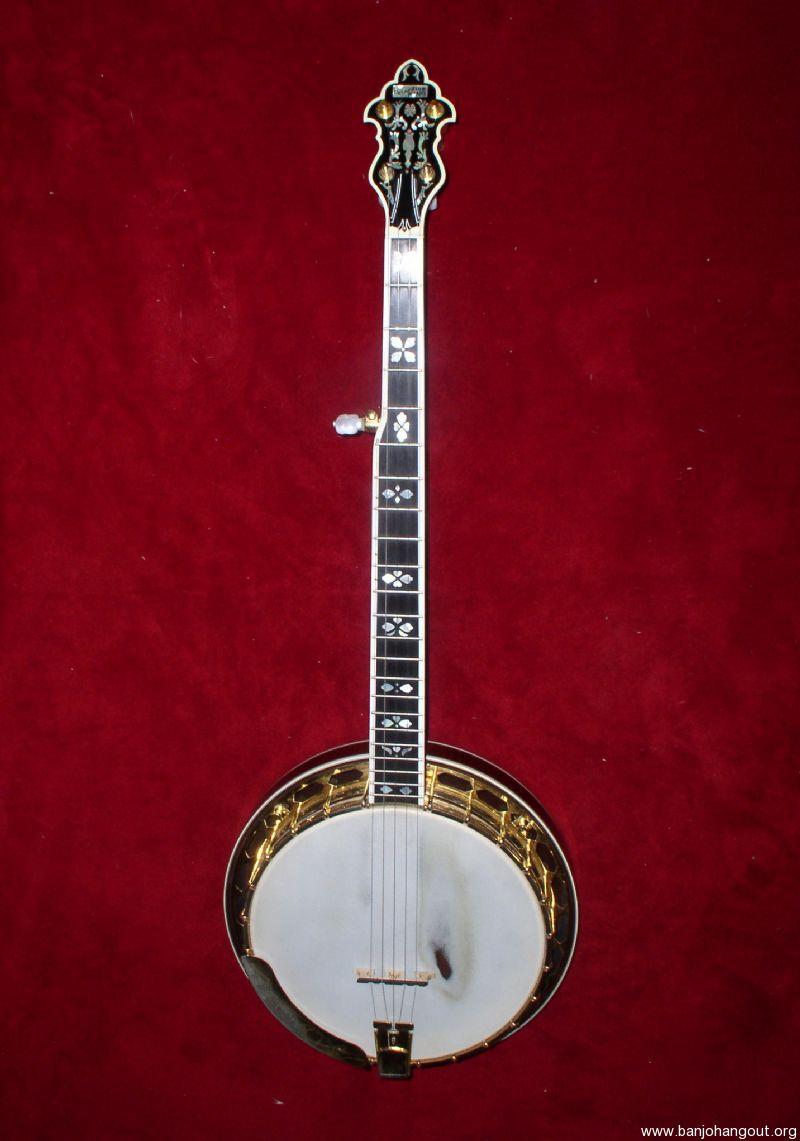 RICH & TAYLOR GREG RICH CUSTOM RECORDING KING BANJO - Used Banjo For
