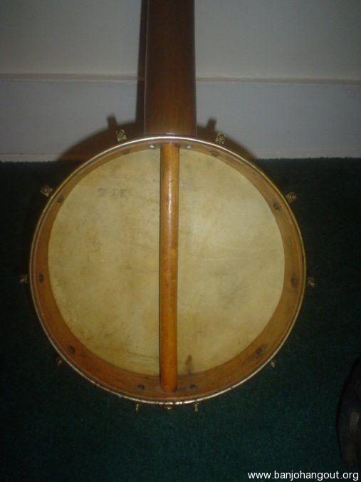 1800 u0026 39 s buckbee     fretless 5-string banjo