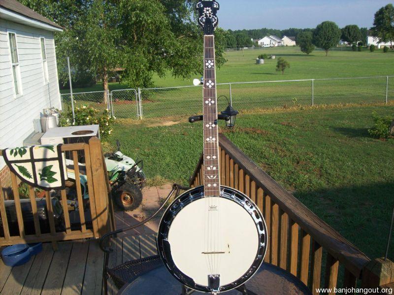 recording king r20 used banjo for sale at. Black Bedroom Furniture Sets. Home Design Ideas