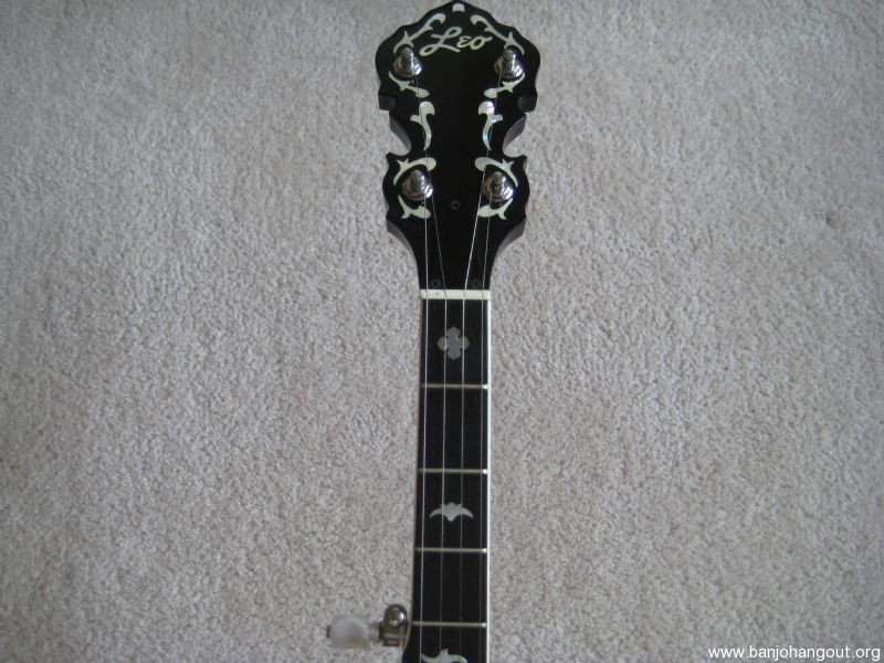 fender leo banjo like new condition used banjo for sale at. Black Bedroom Furniture Sets. Home Design Ideas