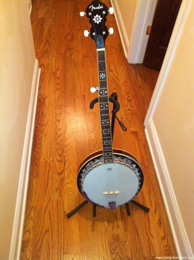 fender fb 54 5 string like new used banjo for sale at. Black Bedroom Furniture Sets. Home Design Ideas