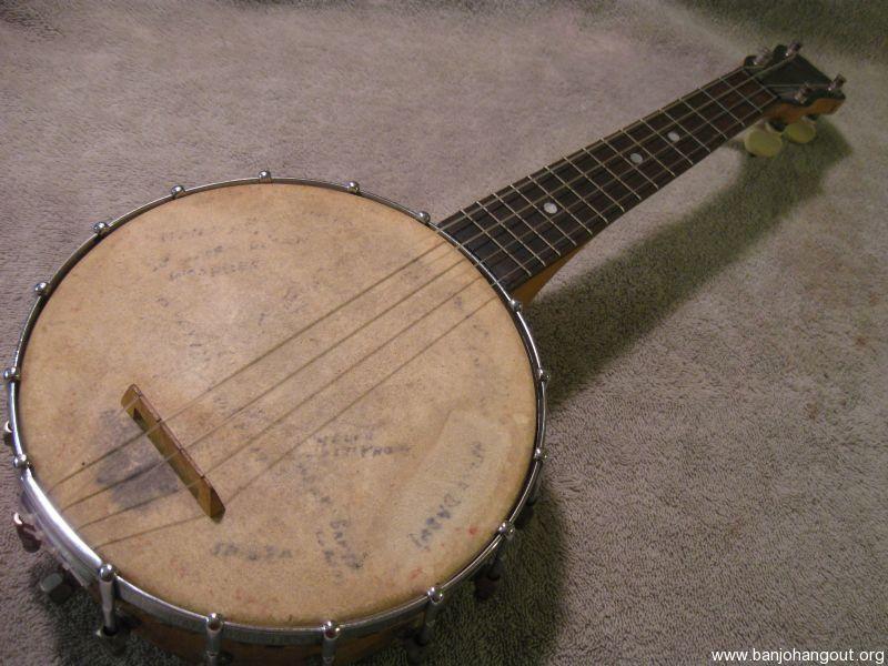 sold slingerland banjo ukulele. Black Bedroom Furniture Sets. Home Design Ideas